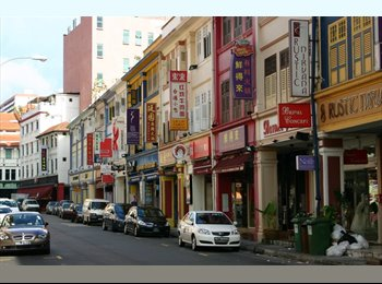 Bugis, near MRT, small common room