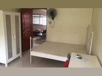 Clean Master bedroom in pasir ris for rent
