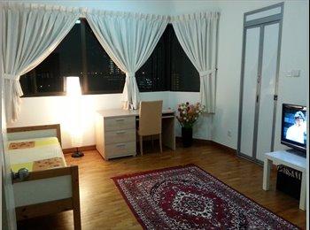 EasyRoommate SG - PARKWEST SPACIOUS ROOM Ensuite Bath Clementi MRT - Clementi, Singapore - $1,190 pcm