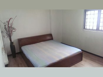 EasyRoommate SG - 5 Room Point Blk HDB Room for Rent - Hougang, Singapore - $750 pcm