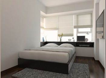 Master room at Optima next to Tanah Merah MRT