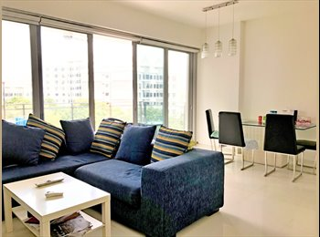 Brand New Condo Master Bedroom is available