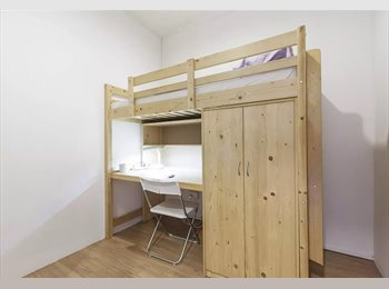 Loftbed room at lavender street near bugis city