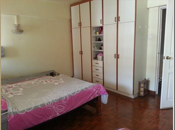 1 Master room + 2 Common Rooms for rent.