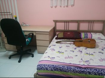 Big Cozy Common  room at Blk 920 Hougang St $600