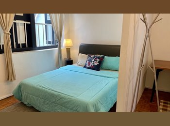 EasyRoommate SG - Huge  room for rent in a cool central shophouse - Neil Road, Singapore - $2,600 pcm