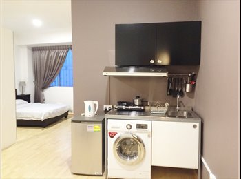 Modern cosy Studio3 with Services! North Central.