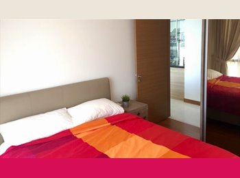 Double+ fully furnished+ Brand new condo