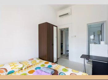Ensuite M2 with city view, chinatown, cbd