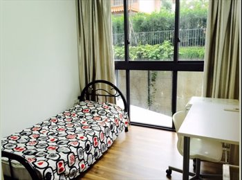 EasyRoommate SG - Condo Room for Rent Opposite Simei MRT - Simei, Singapore - $1,200 pcm