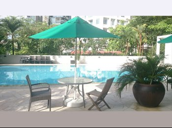 EasyRoommate SG - Master and common room for rent in condo - Orchard, Singapore - $1,200 pcm
