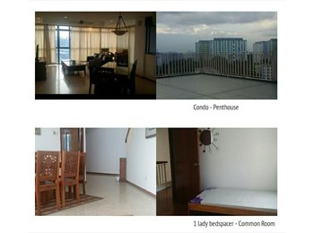 COMMON BEDROOM AVAILABLE -CONDO! FILIPINO ONLY