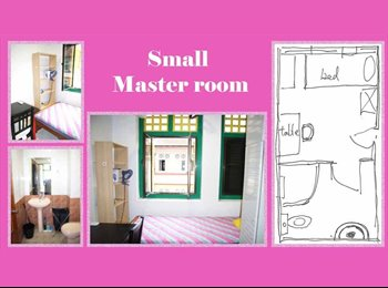 Bugis Small master bed room