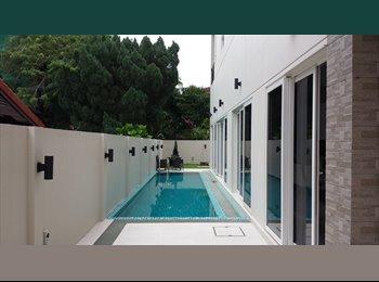 Full Serviced Room Suite in Resort Landed House