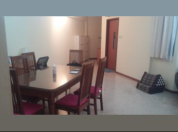 boonlay condo master and common room for renting