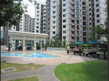 EasyRoommate SG - Master Room @ Simei Green Condominium S$1200 - Simei, Singapore - $1,200 pcm