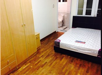 fully furnished common room attached with toilet & Balcony...