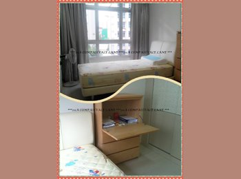 Sengkang Corner unit. Common bedroom. Ranggung LRT. Many...