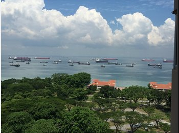 Lagoon View,Bedroom facing East Coast Park,greenery and...