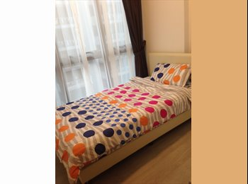 Furnished common condo room for rent! Walking distance to...
