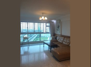 Master room in a spacious 5-room HDB for rent