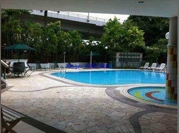 Master Room at Pasir View Park Condo