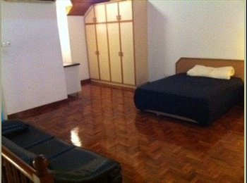 Super big common room fully furnished with attached shared...