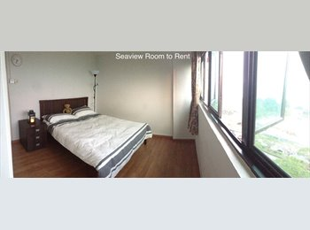 Dazzling Seaview Bedroom Available in Beachfront Expat...