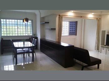 EasyRoommate SG - Park-facing and fully furnished flat with 3 bedrooms - Choa Chu Kang, Singapore - $2,200 pcm