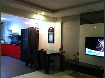 EasyRoommate SG - Simei Nicely Common Room for Rent - Simei, Singapore - $750 pcm