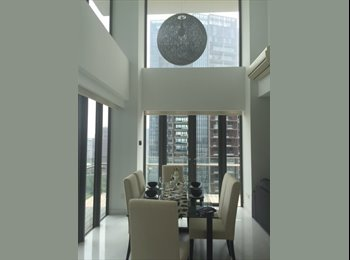 EasyRoommate SG - Master Bedroom with Ensuite Bathroom avaible in Duplex 3 BDR - Orchard, Singapore - $2,800 pcm