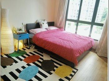 EasyRoommate SG - Double room in bright & spacious Novena/Newton condo - Novena, Singapore - $1,400 pcm