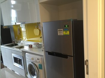 EasyRoommate SG - Studio style master room with kitchen  Unit with independant enterance and keys  - Simei, Singapore - $2,500 pcm