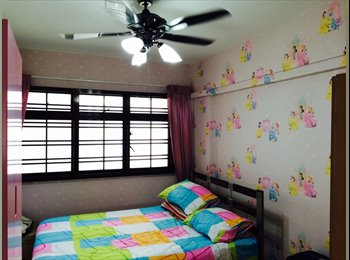 Near Ang Mo Kio MRT Common Room Available for female...