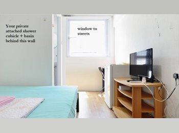 Singlebed room + Window + TV at lavender street near bugis...