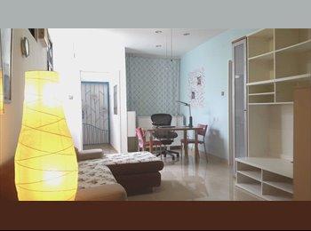 Good sized room with attached bath, full lavish condo...