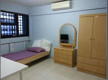 EasyRoommate SG - NO OWNER staying! Female environment! Common room  - Telok Blangah, Singapore - $750 pcm