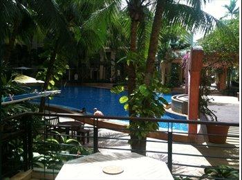 EasyRoommate SG - Holiday Resort Style Living: Junior Master Ensuite n Double Room@Next to Tanah Merah MRT - Bedok, Singapore - $1,500 pcm