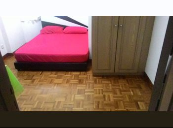 EasyRoommate SG - Room for Rent in West Bay Condo with bathroom!! - West Coast, Singapore - $1,300 pcm