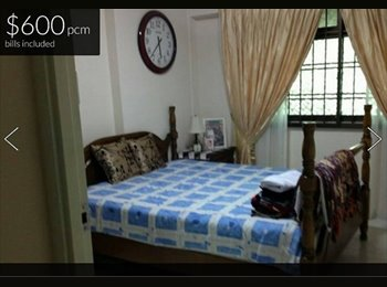 Common room near to Sembawang MRT! $600 ONLY!