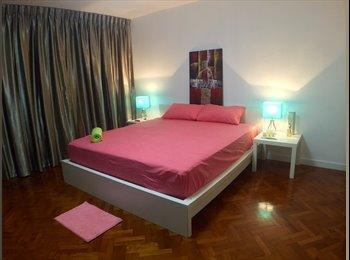 EasyRoommate SG - Opposite SUTD, Changi Business Park (CBP) / Airport / CGH / Simei / Spacious Master Bedroom - Simei, Singapore - $1,380 pcm