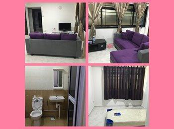EasyRoommate SG - Female tenant wanted - Sembawang, Singapore - $600 pcm