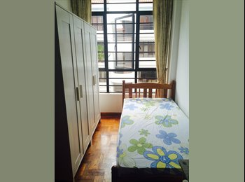 EasyRoommate SG - Shared Room(max 2), Eunos - $475 pcm