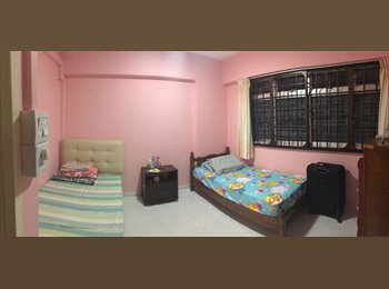 Aircon wifi! Common room at 911 Hougang Street 91 for rent!...