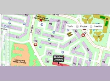 EasyRoommate SG - Bishan Blk 131 common room for rent, Bishan - $650 pcm