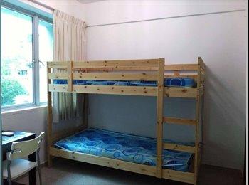 EasyRoommate SG - Triple Sharing Master Bedroom, Singapore - $600 pcm