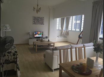 Bright room in beautiful, big 2 bedroom apartment