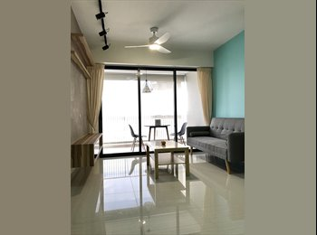 Clementi MRT Station-Trivelis HDB Apartment-Room For Rent