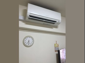 EasyRoommate SG - Fully furnished aircon room for rent, Singapore - $600 pcm