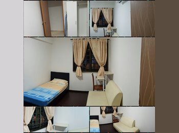 EasyRoommate SG - Admiralty Link, Blk 485 Common Room for Rent, Singapore - $650 pcm